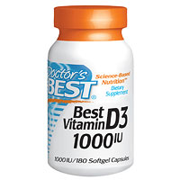 Doctors Best Best Vitamin D3 1000iu - 180 Softgels
