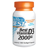 Doctor's Best Vitamin D3 2000iu