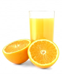Fresh Orange Juice fortified with calcium and vitamin D may help reduce abdominal fat