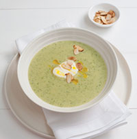 Courgette and Almond Soup