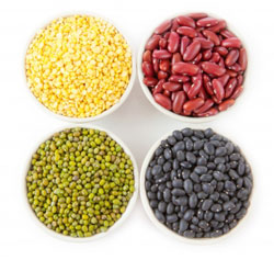 Lentils and Kidneys Beans contain B6