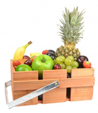 Fresh fruit can help with long term weight loss.