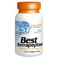 What are the uses and side effects of serrapeptase?