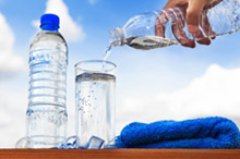Drink at least 1.5 litres of still water daily to flush toxins out through your urinary tract.